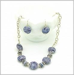 Purple Marble Set